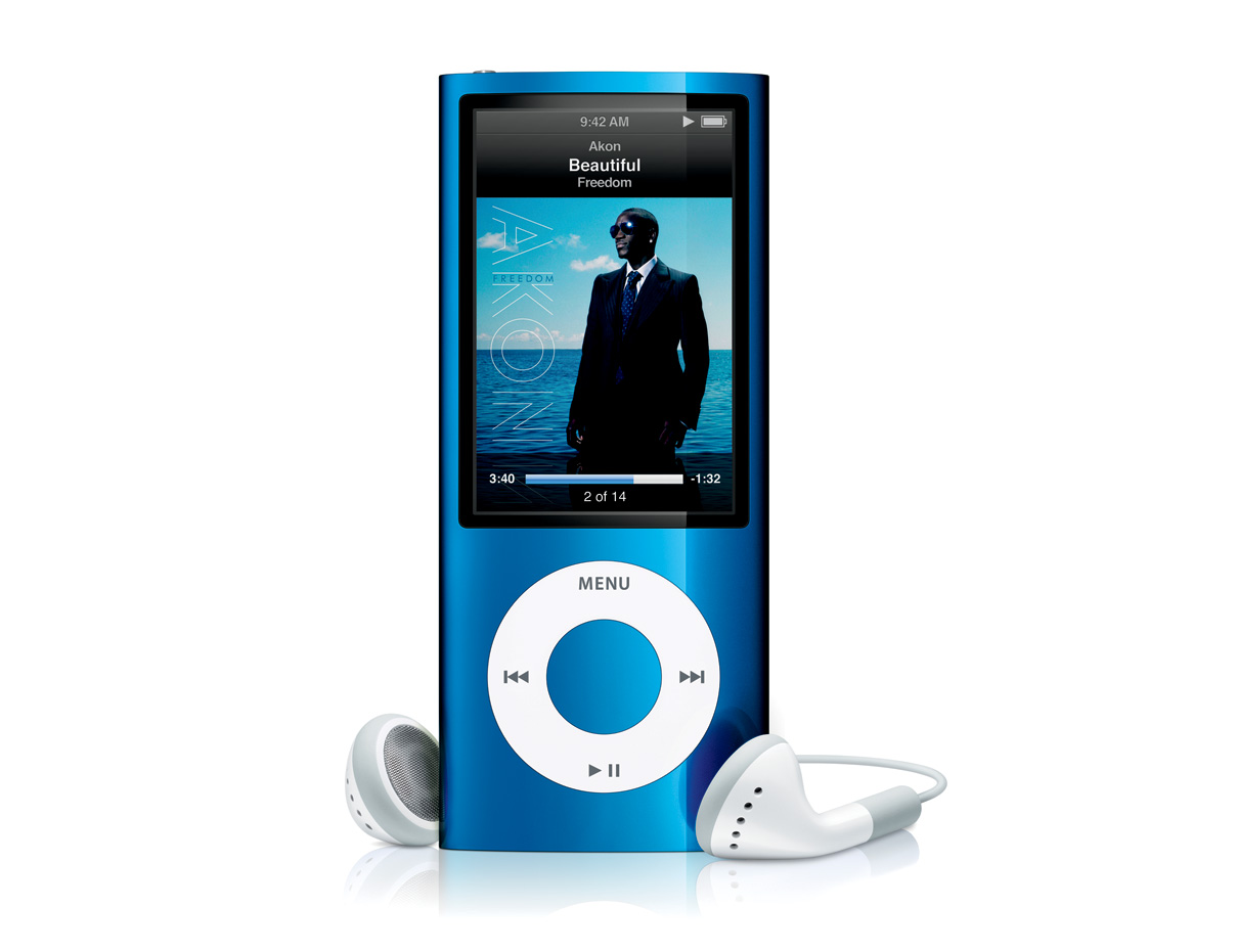 ipod nano 5g shines with built in video camera larger. Black Bedroom Furniture Sets. Home Design Ideas