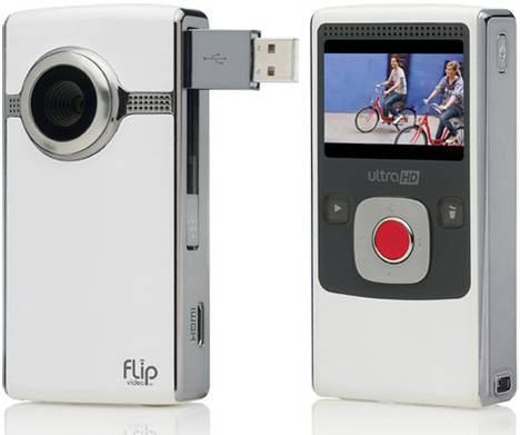 Flip Intros All-New Ultra And UltraHD Camcorders (White UltraHD)