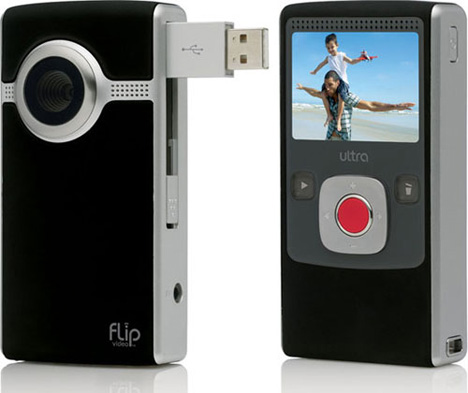 Flip Intros All-New Ultra And UltraHD Camcorders (Black UltraSD)