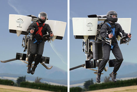 Martin Jetpack Looks Like A Blast, Yours For $100,000.