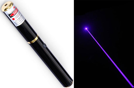 Blue Violet Laser Pointer Stands Out From The Crowd