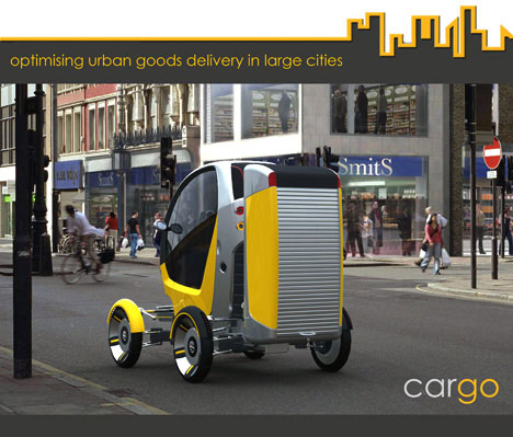 CarGo Transforming Pickup Concept Is 3 Vehicles In 1 [Compact Mode]