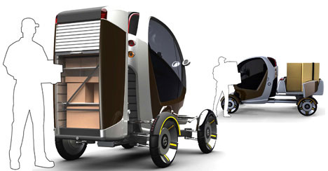 CarGo Transforming Pickup Concept Is 3 Vehicles In 1