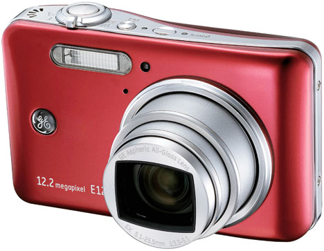 GE Intros E1250TW Touchscreen Point-And-Shoot Camera