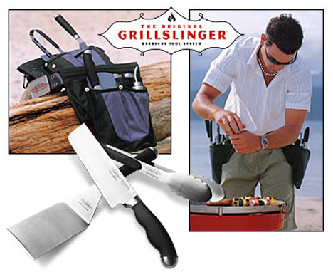 Grillslinger BBQ Tool Belt Lets You Quick-Draw Your Utensils