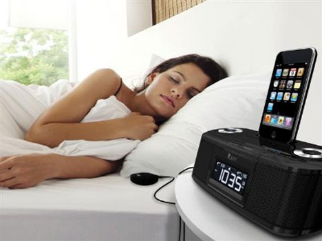 iLuv Alarm Clock Will Vibrate You Out Of Bed