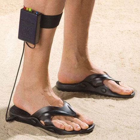 Metal Detecting Sandals Identify Treasure Beneath Your Feet