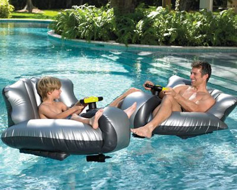 Motorized Bumper Boat Is Fun For All Ages