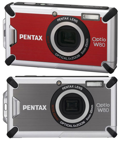 Pentax Optio W80 Waterproof Point-And-Shoot Announced
