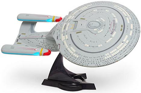 Star Trek Enterprise 1701-D Replica Includes Saucer Separation
