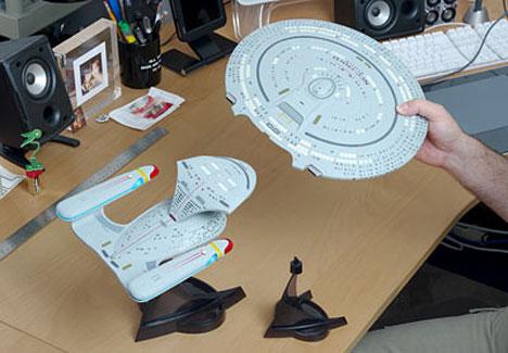 Star Trek Enterprise 1701-D Replica Includes Saucer Separation [Saucer Separation Complete]