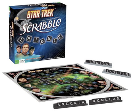 Star Trek Scrabble Will Engage Your Sci-Fi Lingo