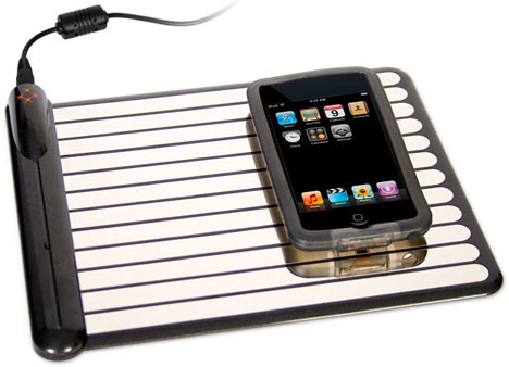 WildCharge Wirelessly Charges Your iPhone, iPod Touch.