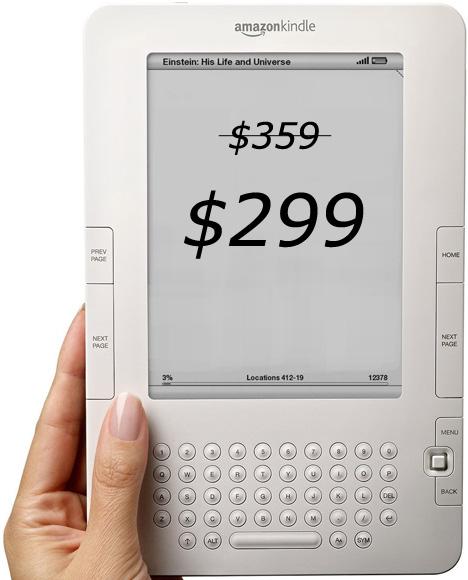 Amazon's Kindle 2 Price Slashed To $299