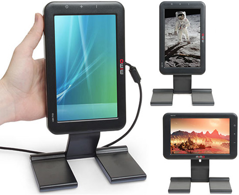Mimo Mini USB Monitor: Extra Screen Space On-The-Go [Group Shot]