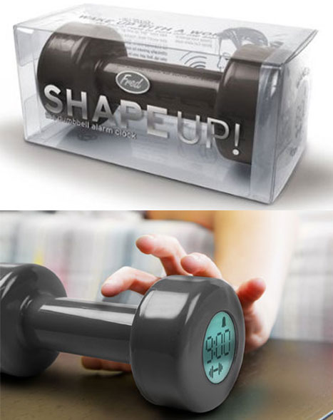 Shape Up Alarm Clock Dumbbell Will Rep You Out Of Bed
