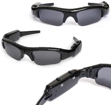 Spycam Video Sunglasses Disguise Your Face, Gear & Agenda [All Angles]