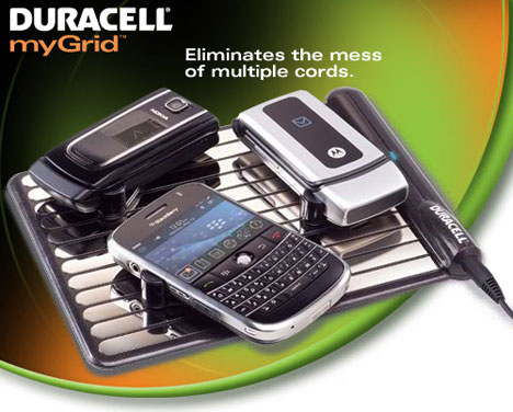 Duracell myGrid Wireless Charging Kit
