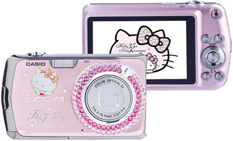 Hello Kitty Casio Exilim EX-Z2 Camera [Front & Back]