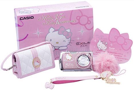 Hello Kitty Casio Exilim EX-Z2 Camera [The KT Kit]