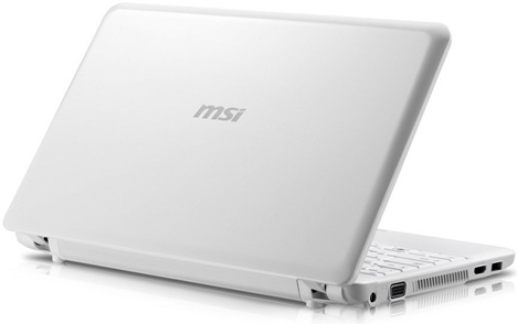 "MSI Wind U210 12.1"" Netbook"