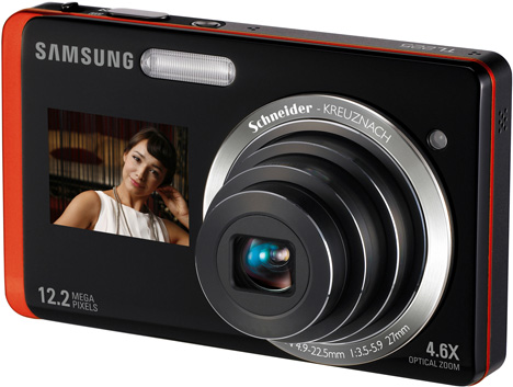 Samsung DualView TL225 Camera [Angle Shot]