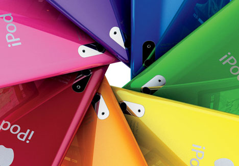 iPod Nano 5G [Rainbow Aperture Effect]