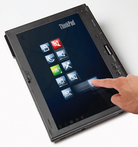 Lenovo X200 Tablet With Multi-Touch Touchscreen