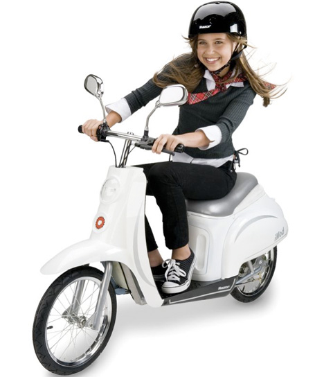 Children's Electric Euro Scooter