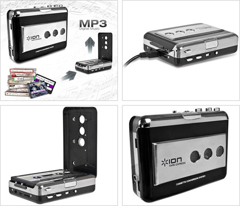 ION Tape Express Audio Cassette To MP3 Converter