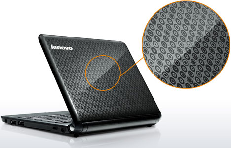 Lenovo IdeaPad S12 Ion-Powered Netbook [Pattern Zoom]