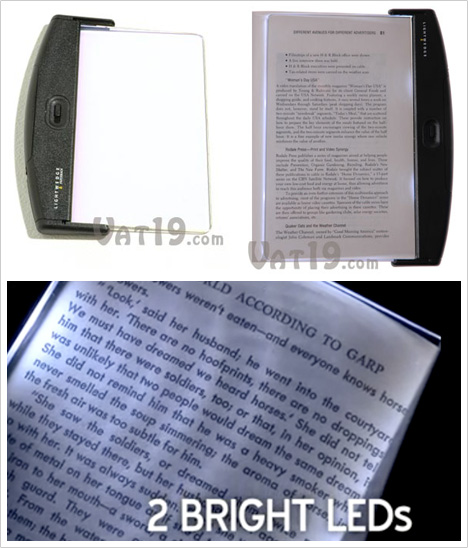 LightWedge LED Book Light [Product Shots]