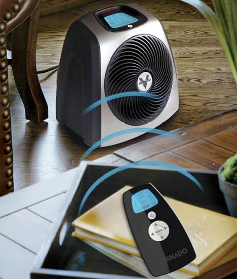 Remote Temperature Sensing Space Heater