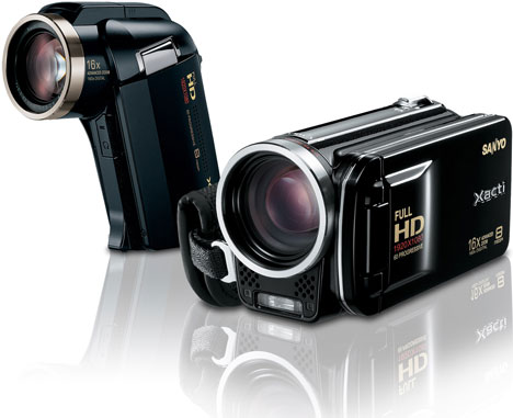 Sanyo Xacti HD2000 And FH1 Camcorders