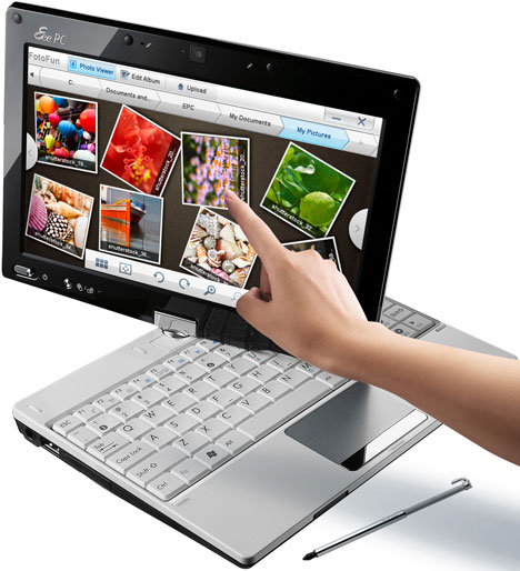 ASUS Eee PC T91MT Multitouch Netbook / Tablet