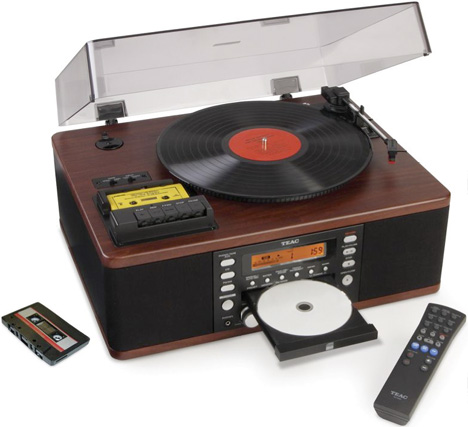 LP And Cassette To CD Recorder