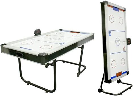 Space Saving Air Hockey Table