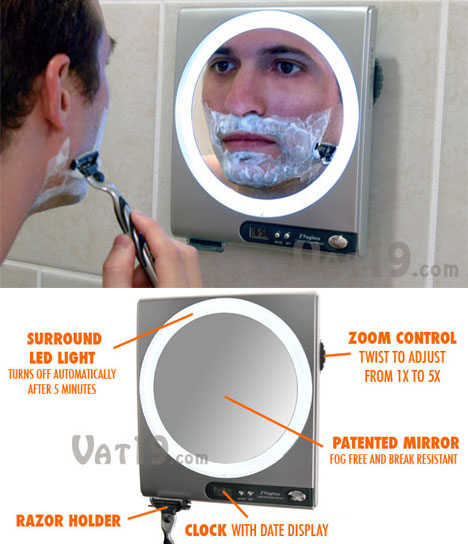 Zadro Fogless Shower Mirror