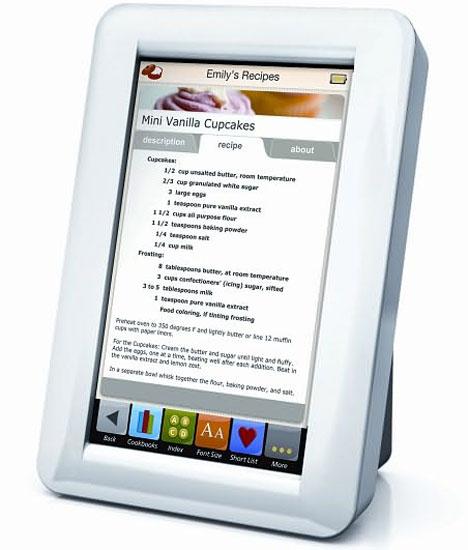 Demy Touchscreen Digital Recipe Reader [Upright]