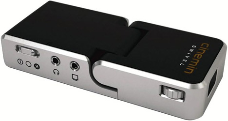 Wowwee Cinemin Swivel Pico Projector Shines At Any Angle