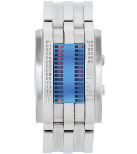Tick Mark Timekeeper LED Watch