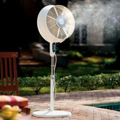 The Cool Mist Outdoor Fan