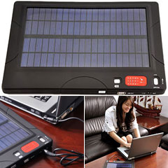 Huge Capacity Solar Charger And Battery