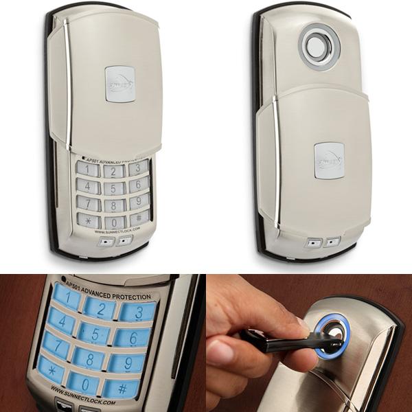 Advanced Protection Digital Deadbolt Lock Provides Keyless