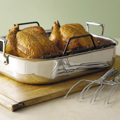 All-Clad Stainless Roasting Set With Rack