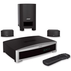The Discreet Bose 3-2-1 Home Theater System