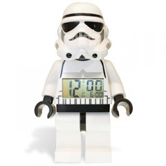 Stormtrooper LEGO Minifigure Alarm Clock