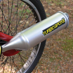 Turbospoke Bicycle Exhaust Sound System
