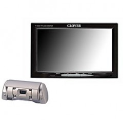 Clover Electronics TFT7001 7 Inch TFT LCD Rear View Color Camera System for Vehicles