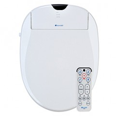 Brondell Swash S1000-EW Heated Bidet Toilet Seat